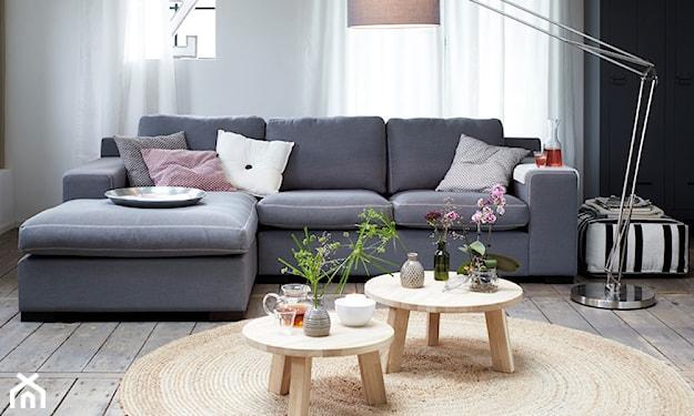 stylowy salon w stylu skandynawskim