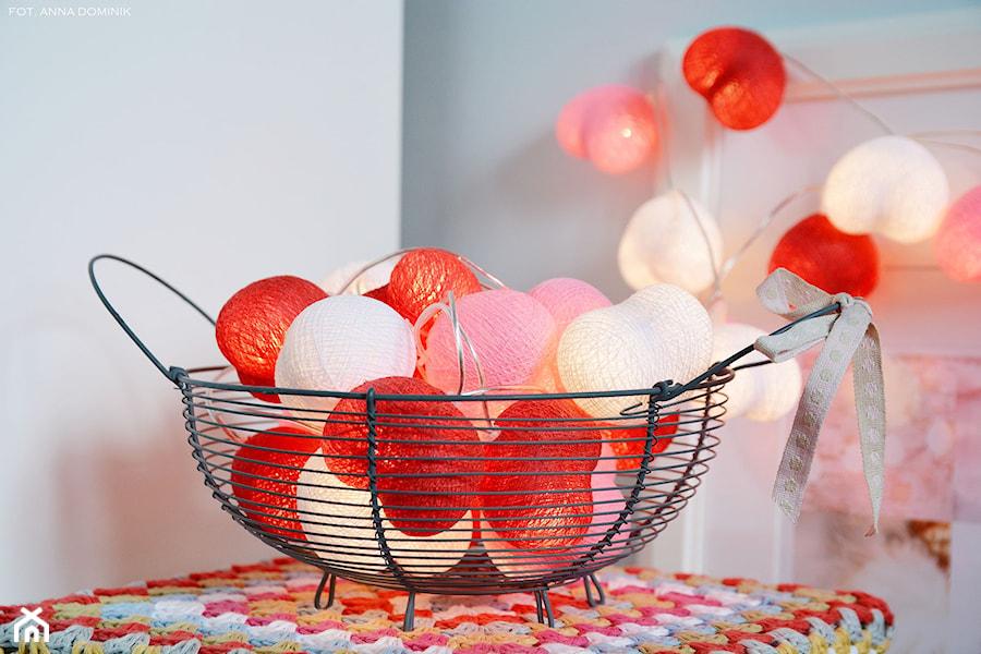 Girlanda świetlnych serc - zdjęcie od 9design