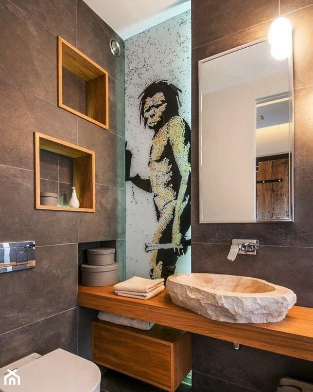 Nadruk Na Szkle W łazience Zdjęcie Od Terjot Szklane