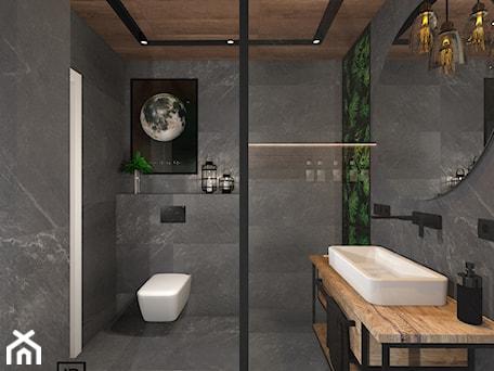 Aranżacje wnętrz - Łazienka: Łazienka 4 - Średnia łazienka, styl industrialny - Anna Romik Architektura Wnętrz. Przeglądaj, dodawaj i zapisuj najlepsze zdjęcia, pomysły i inspiracje designerskie. W bazie mamy już prawie milion fotografii!