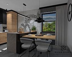 Kuchnia+-+zdj%C4%99cie+od+Anna+Romik+Architektura+Wn%C4%99trz