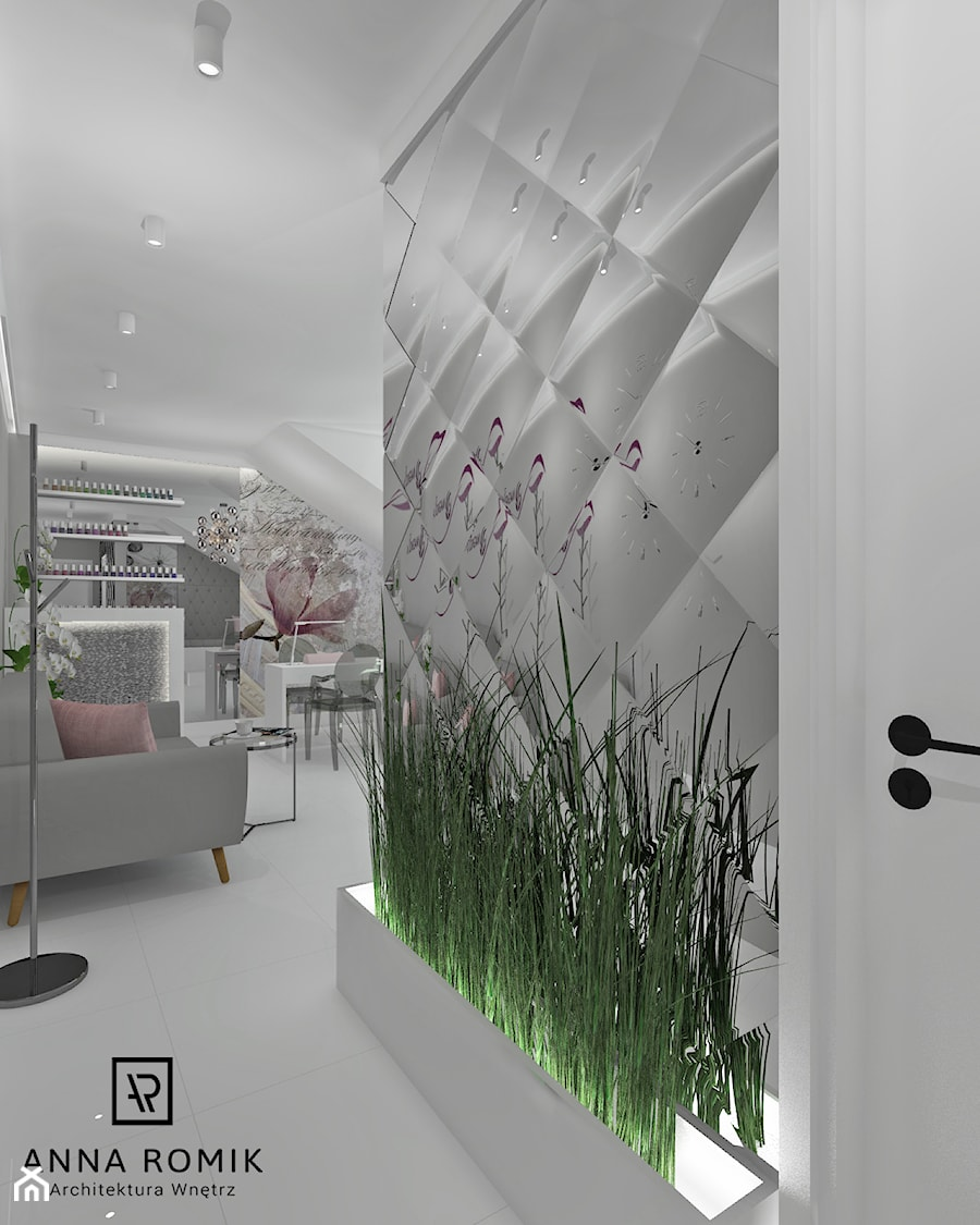 Salon Kosmetyczny Sucha Beskidzka 54 M2 Wnętrza Publiczne Styl