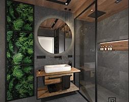 łazienka Z Kabiną Typu Walk In Aranżacje Pomysły Inspiracje