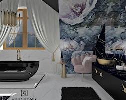 Łazienka 47 - Łazienka, styl glamour - zdjęcie od Anna Romik Architektura Wnętrz - Homebook
