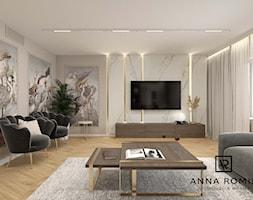 Salon 17 - Salon, styl nowoczesny - zdjęcie od Anna Romik Architektura Wnętrz - Homebook
