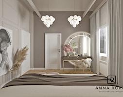 Sypialnia 19 - Sypialnia, styl glamour - zdjęcie od Anna Romik Architektura Wnętrz - Homebook