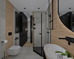 Łazienka 60 - Łazienka, styl nowoczesny - zdjęcie od Anna Romik Architektura Wnętrz - Homebook