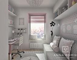 Pokój Viki 6,9 m2 - zdjęcie od Anna Romik Architektura Wnętrz