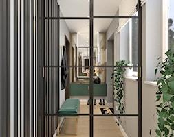Wiatrołap 8 - Hol / przedpokój, styl nowoczesny - zdjęcie od Anna Romik Architektura Wnętrz - Homebook