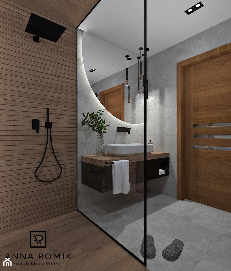 Łazienka 13 - Średnia łazienka w bloku w domu ...