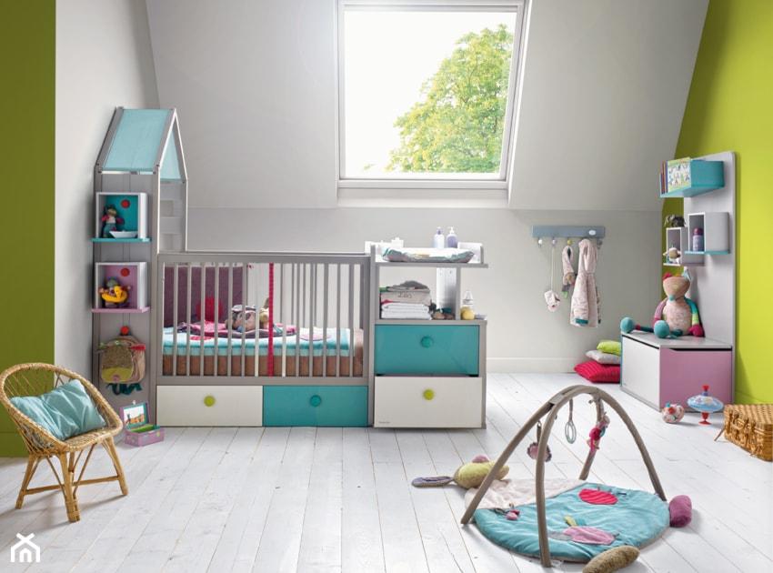 Redni pok j dziecka dla dziewczynki dla malucha styl for Bricolage chambre bebe