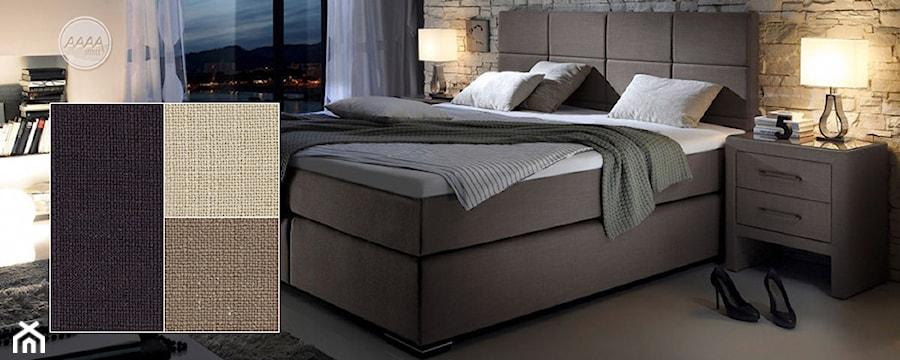 łóżka Tapicerowane Z Wysokim Wezgłowiem Zdjęcie Od