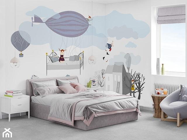 pokoje dla dzieci z tapetą