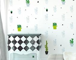 Tapeta w kaktusy - zdjęcie od info@humptydumpty.com.pl