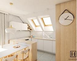 Kuchnia styl Skandynawski - zdjęcie od Huk Architekci