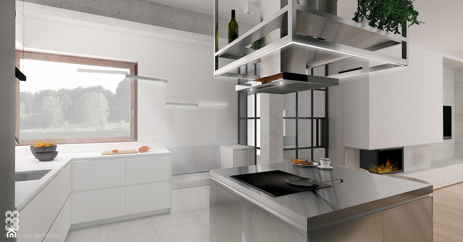 BRZEG DOLNY_projekt - Kuchnia, styl nowoczesny - zdjęcie od NA NO WO ARCHITEKCI - Homebook
