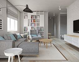 Mieszkanie 80 m2 - zdjęcie od AZK DESIGN - Homebook