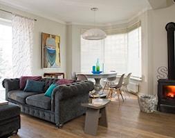 Dom w zabudowie bliźniaczej 260 m2 - zdjęcie od AZK DESIGN
