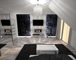 Sypialnia styl Nowoczesny - zdjęcie od Interiors Dawid Zieja