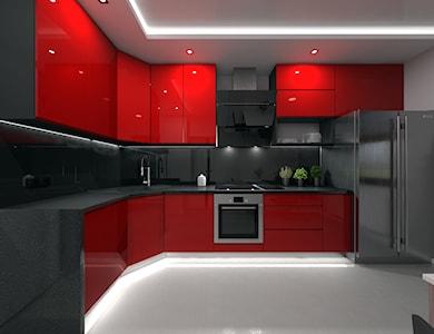Kuchnia styl Nowoczesny - zdjęcie od Interiors Dawid Zieja