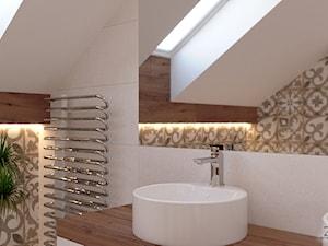 Patchworkowa łazienka