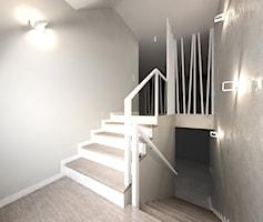 Schody styl Skandynawski - zdjęcie od Interiors Dawid Zieja