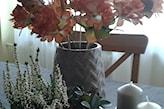dekoracje jesienne z liści