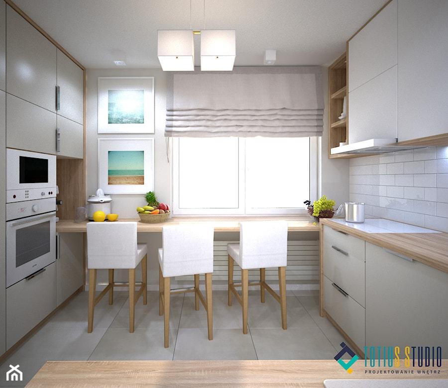 Blat Pod Oknem W Kuchni Zdjęcie Od Totius Studio Homebook