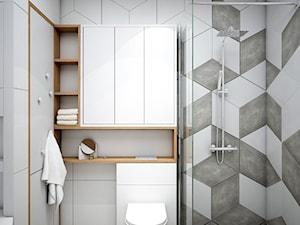 Łazienka w romby - zdjęcie od Totius Studio