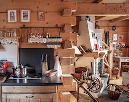 Chalet Nr 1 - Mniszkowy Zapiecek - Kuchnia, styl rustykalny - zdjęcie od Górska Osada - Luxury Chalets in Tatra Mountains
