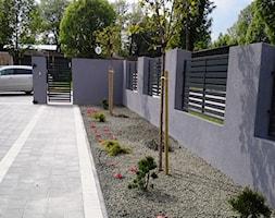 Realizacje - Średni ogród przed domem - zdjęcie od Twój ogród marzeń