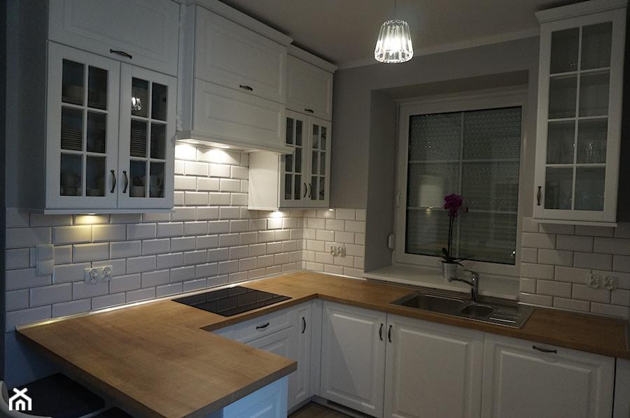 Kuchnia urządzona w stylu skandynawskim  zdjęcie od FILMAR meble -> Kuchnia I Salon W Stylu Skandynawskim