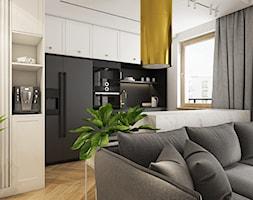 WNĘTRZA WARSZAWSKIEGO MIESZKANIA - Kuchnia - zdjęcie od SYMETRIA | pracownia architektury - Homebook
