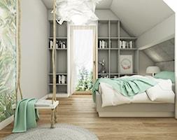 PROJEKT W17 etap II - Pokój dziecka, styl nowoczesny - zdjęcie od SYMETRIA | pracownia architektury - Homebook