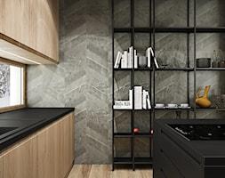 PROJEKT W17 etap I - Kuchnia - zdjęcie od SYMETRIA | pracownia architektury - Homebook