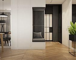 WNĘTRZA WARSZAWSKIEGO MIESZKANIA - Salon - zdjęcie od SYMETRIA | pracownia architektury - Homebook