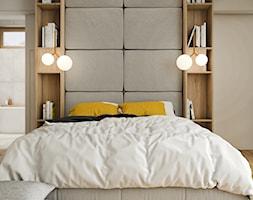 PROJEKT W17 etap II - Sypialnia, styl nowoczesny - zdjęcie od SYMETRIA | pracownia architektury - Homebook