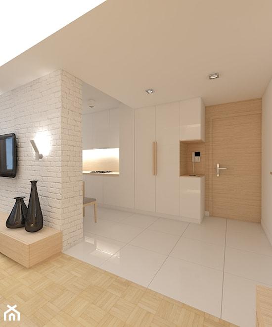 Projekt Salonu Z Aneksem Ok 40m2 Projektowanie Wnętrz