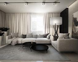DOM POD CZĘSTOCHOWĄ / 200M2 - Duży kolorowy salon, styl nowoczesny - zdjęcie od wisniewskikuba - Homebook