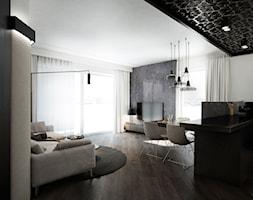 APARTAMENT / CZĘSTOCHOWA 55M2 - Salon, styl nowoczesny - zdjęcie od wisniewskikuba - Homebook