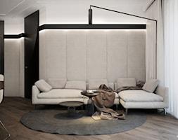 APARTAMENT / CZĘSTOCHOWA 55M2 - Duży salon, styl nowoczesny - zdjęcie od wisniewskikuba - Homebook