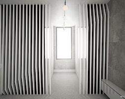 DOM JEDNORODZINNY / CZĘSTOCHOWA 283M2 - Średnia szara sypialnia małżeńska, styl nowoczesny - zdjęcie od wisniewskikuba - Homebook