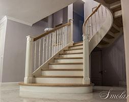 schody gięte - Schody, styl kolonialny - zdjęcie od Sławomir Smolarek 2