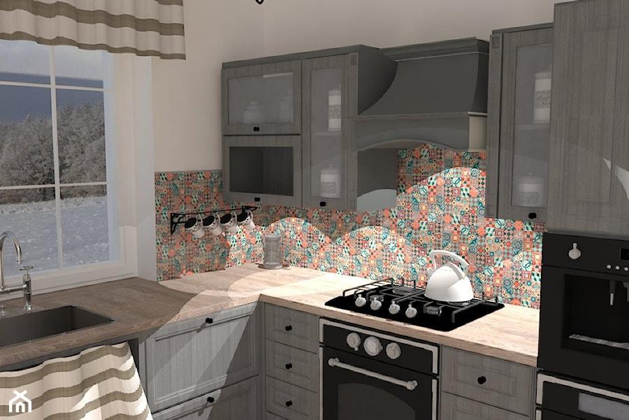 Dom W Stylu Rustykalnym Kuchnia Styl Rustykalny Zdjęcie Od