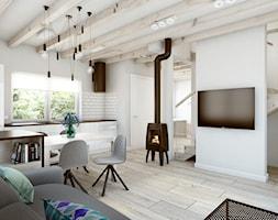 Salon, Jadalnia & Kuchnia / Living Room, Dining Room & Kitchen - zdjęcie od DOT STUDIO Agnieszka Żakowska-Nowak