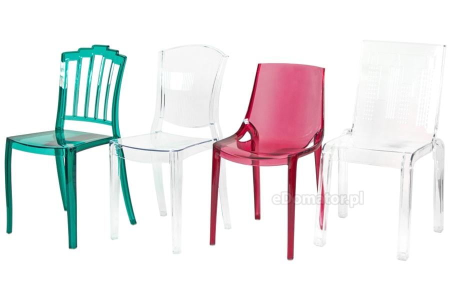 Poważne Transparentne krzesła z poliwęglanu - zdjęcie od eDomator.pl HW97