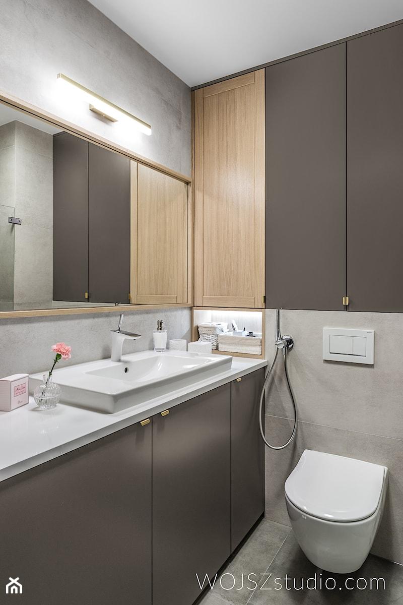 Realizacja Mieszkanie W Gdańsku 2018 Mała łazienka Styl