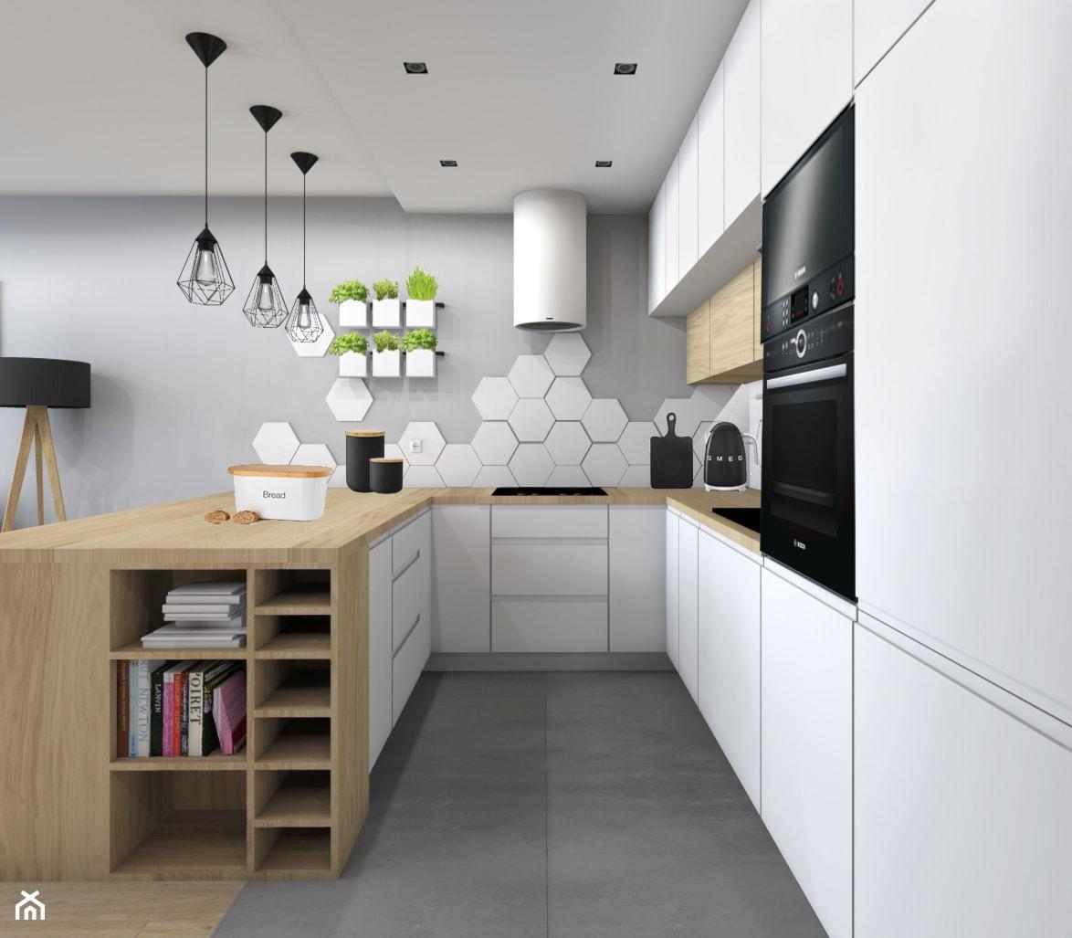 Niskobudżetowe mieszkanie w Krakowie 57m2 - zdjęcie od STUDIO PNIAK - Homebook