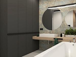 Łazienka drewniany blat - zdjęcie od STUDIO PNIAK