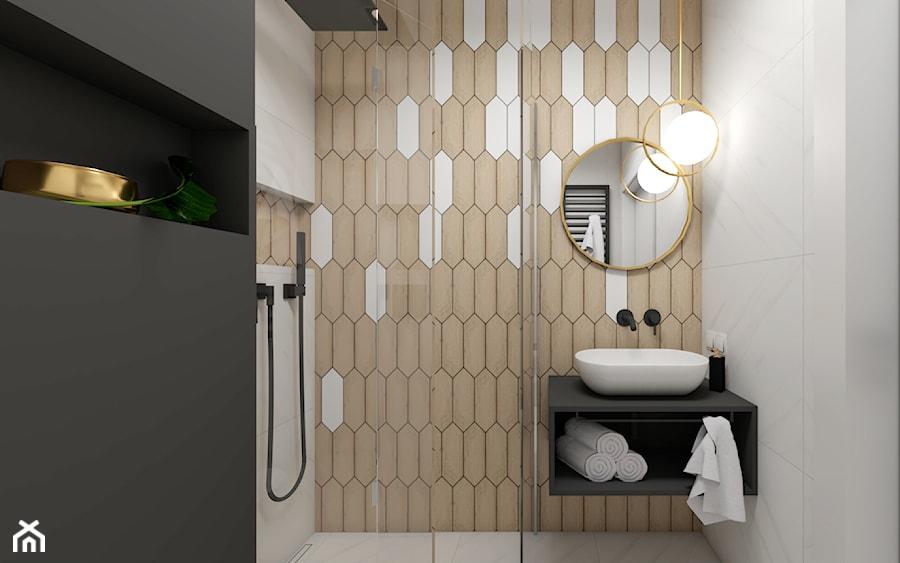 Złote Dodatki W łazience Zdjęcie Od Studio Pniak Homebook